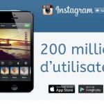 Instagram passe la barre des 200 millions d'utilisateurs