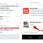 Twitter souhaite supprimer les mentions dans les réponses.