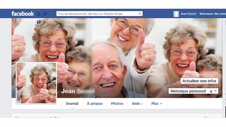 Facebook pour les seniors