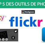 Top 5 des outils photos