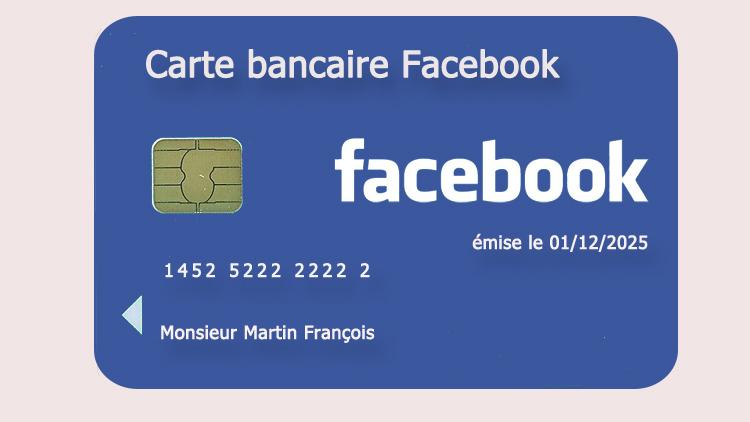 carte bancaire facebook