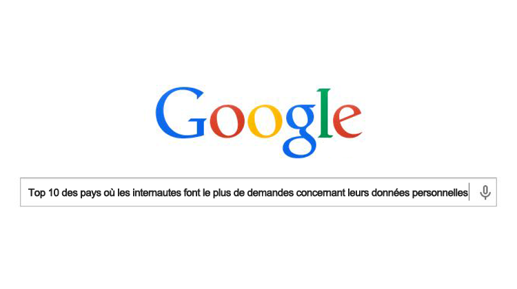 donnees personnelles google
