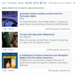Quid des « Related Articles » sur Facebook ?