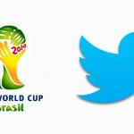 Twitter et les joueurs de la Coupe du Monde de Football