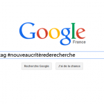 Une recherche par Hashtag sur Google, vraiment ?