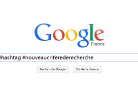 Google intègre les hashtag