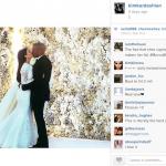 Kanye et Kim brisent des records sur Instagram
