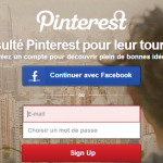 Pinterest propose enfin la discussion privée à propos d'un Pin