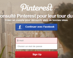 Pinterest-messagerie