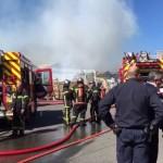 AK1 : L'incendie est sous contrôle