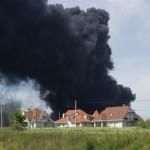 Violente explosion sur le site (SEVESO) AK3