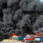 Fumées inquiétantes à l'usine AK1 aux Ponts-de-Cé