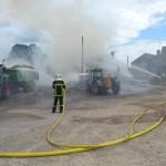 Point sur l'incendie à l'usine AK1 situé aux Ponts de Cé.