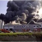 Explosion importante dans l'usine AK3 des Ponts-de-Cé